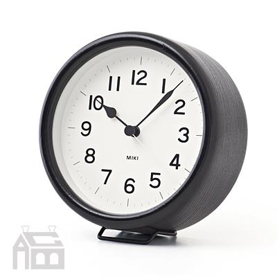 Lemnos MIKI URUSHI レムノス ミキ ウルシ NY14-03  漆塗り/掛時計/壁掛け時計/かけ時計/北欧/置時計/置き時計/おき時計/デザイン時計/インテリア時計