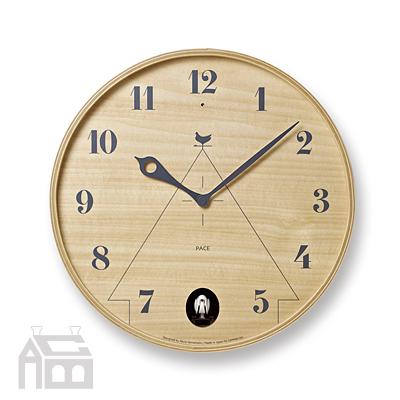 Lemnos PACE カッコー時計 LC11-09 鳩時計 ハト時計  掛時計/壁掛け時計/かけ時計/北欧/ウォールクロック/壁時計/デザイン時計/インテリア時計