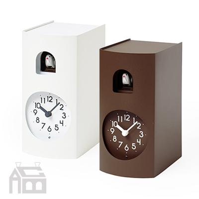 Lemnos Bockoo レムノス カッコー時計 ブックゥ GF17-04  掛時計/掛け時計/置き時計/置時計/かけ時計/壁掛け/北欧/おしゃれ/デザイン時計/インテリア時計