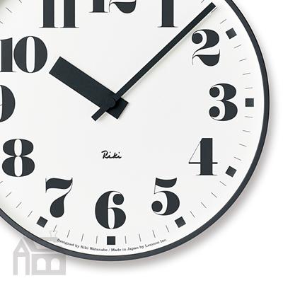 Lemnos RIKI PUBLIC CLOCK WR17-06 レムノス 掛け時計/壁掛け時計/北欧/リキクロック