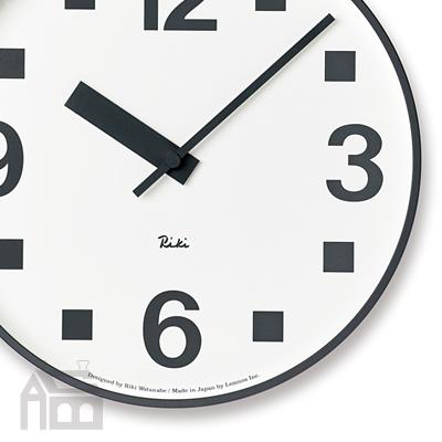 Lemnos RIKI PUBLIC CLOCK WR17-07 レムノス 掛け時計/壁掛け時計/北欧/リキクロック