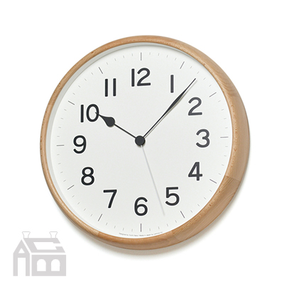 Lemnos ROOT 丸型 レムノス 電波時計 NY18-06  掛時計/掛け時計/ウォールクロック/北欧/おしゃれ/デザイン時計/インテリア時計
