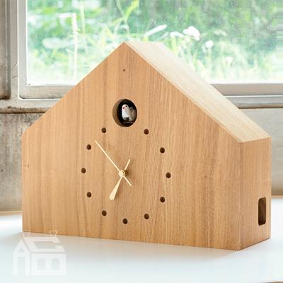 Lemnos CUCULO FELICE レムノス カッコー時計 MAA18-01  掛時計/掛け時計/ウォールクロック/北欧/おしゃれ/デザイン時計/インテリア時計/置時計/置き時計