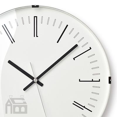 Lemnos Draw wall clock[電波時計] レムノス KK18-12  掛時計/掛け時計/ウォールクロック/北欧/おしゃれ/デザイン時計/インテリア時計