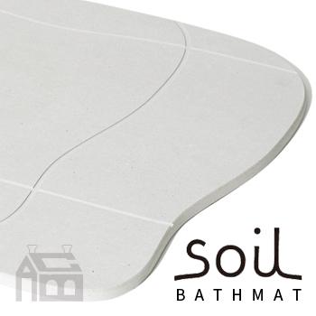 SOIL BATH MAT aqua ソイル バスマット アクア  珪藻土/調湿