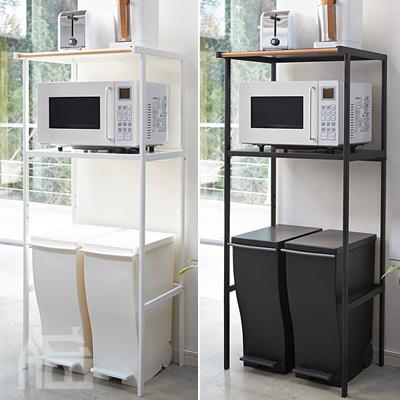 Yamazaki Tower ゴミ箱上ラック ヤマザキ タワー  キッチン/収納/スペース/レンジ台/調理器具