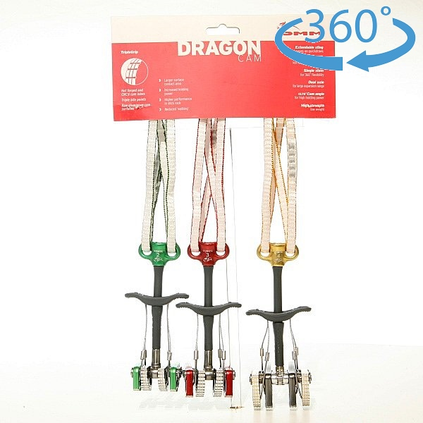 ディーエムエム(DMM)  ドラゴン カム 3個セット(#2+#3+#4)