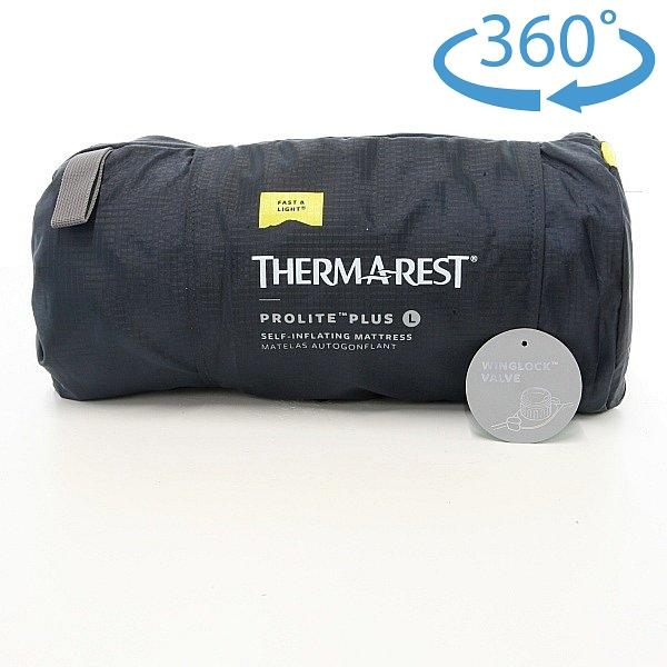 サーマレスト (Thermarest) ProLite Plus プロライト プラス ラージ (ウイングロックバルブ)
