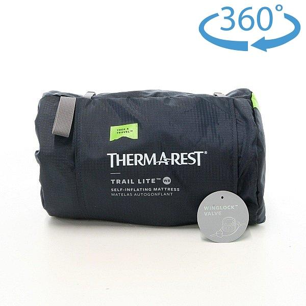 サーマレスト (Thermarest) Womens Trail Lite トレイルライト 女性用 レギュラー (ウイングロックバルブ)