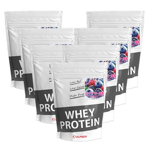 【7個セット】 アルプロン WPC ホエイプロテイン ミックスベリー風味 1kg(約50食) | 正規品 ALPRON プロテイン whey たんぱく質 筋トレ ダイエット プロテインダイエット 女性 男性 公式[送料無料]