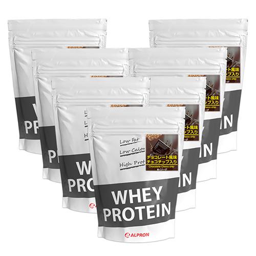 【7個セット】 アルプロン WPC ホエイプロテイン チョコレート風味+チョコチップ入り 1kg(約50食) | 正規品 ALPRON プロテイン whey たんぱく質 筋トレ ダイエット プロテインダイエット 女性 男性 公式[送料無料]