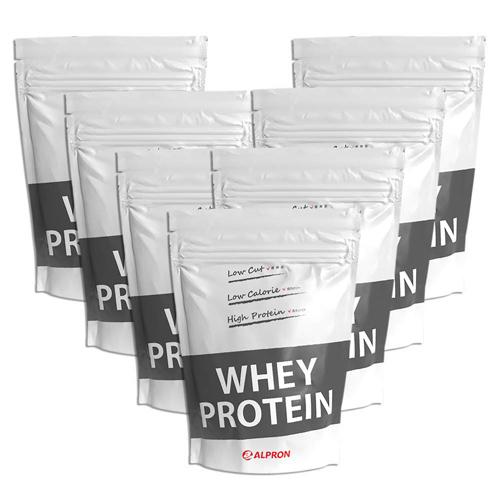 【7個セット】アルプロン WPC ナチュラル ホエイプロテイン100 無添加 1kg(約50食)たんぱく質含有量約80% | 正規品 ALPRON プロテイン whey たんぱく質 アミノ酸スコア100 筋トレ ダイエット プロテインダイエット 砂糖不使用 置き換え 女性 男性 公式