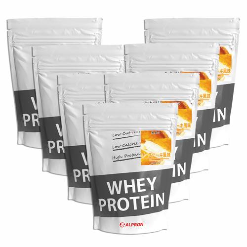 【7個セット】[ 送料無料 ] アルプロン WPC ホエイプロテイン100 チーズケーキ 1kg(約50食) | 正規品 ALPRON プロテイン whey たんぱく質 アミノ酸スコア100 筋トレ ダイエット プロテインダイエット 女性 男性 公式
