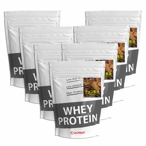 【7個セット】[ 送料無料 ] アルプロン WPC ホエイプロテイン100 チョコレート 1kg(約50食) | 正規品 ALPRON プロテイン whey たんぱく質 アミノ酸スコア100 筋トレ ダイエット プロテインダイエット 女性 男性 公式