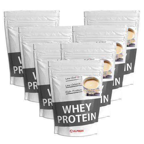 【7個セット】[ 送料無料 ] アルプロン WPC ホエイプロテイン100 ミルクティー 1kg(約50食) | 正規品 ALPRON プロテイン whey たんぱく質 アミノ酸スコア100 筋トレ ダイエット プロテインダイエット 女性 男性 公式