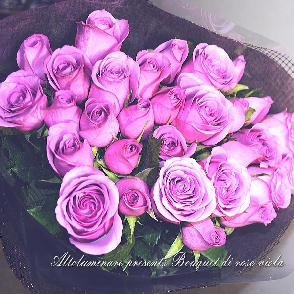【アメジスト】パープルのバラ30本のブーケ(紫のバラの花束)【楽ギフ_メッセ入力】【楽ギフ_名入れ】【お誕生日祝い 入学祝い 出産内祝い 快気祝い 出産祝い 送料込】【YDKG】【SMTB】