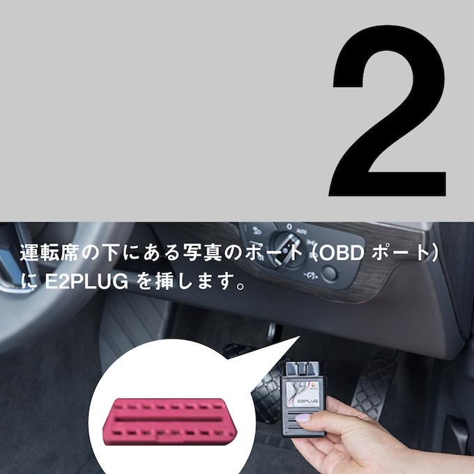 テレビキャンセラーE2PLUGの使い方2