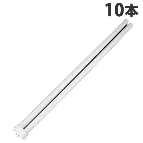 日立 コンパクト形蛍光ランプ FPL 36W ハイルミック電球色 10本 FPL36EX-L【代引不可】