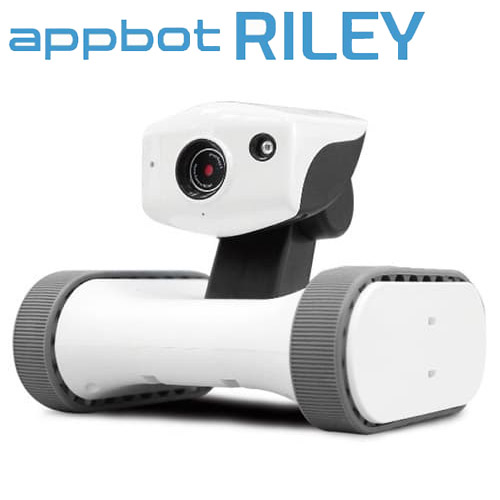 【取寄品】ライオン事務器 アボット ライリー RILEY-17 監視カメラ 防犯カメラ カメラ付ロボット 移動型カメラ付きロボット