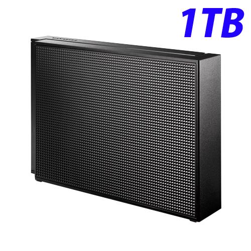 【取寄品】アイ・オー・データ USB 3.0/2.0対応 外付ハードディスク 1TB ブラック HDCZ-UT1KB