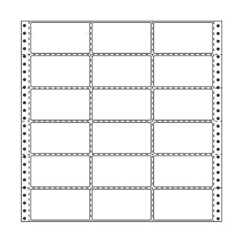 ラベルシール 東洋印刷 R13A タックシール (連続ラベル) 再剥離タイプ 500折【代引不可】
