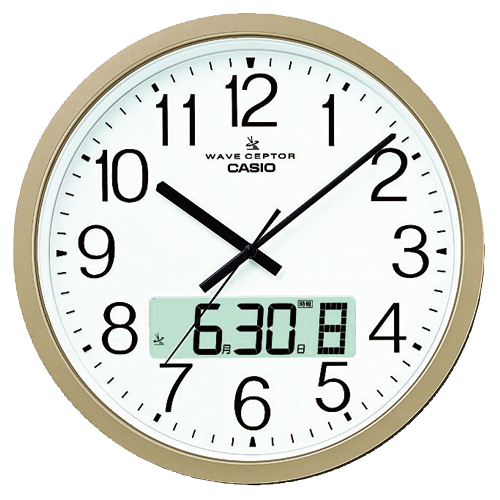 【取寄品】カシオ計算機 カシオ電波掛時計 IC-4100J-9JF