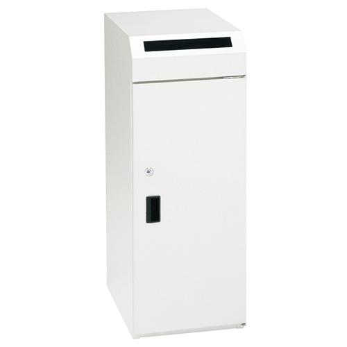 【取寄品】ぶんぶく 機密書類回収ボックスKIM-S-9 ネオホワイト