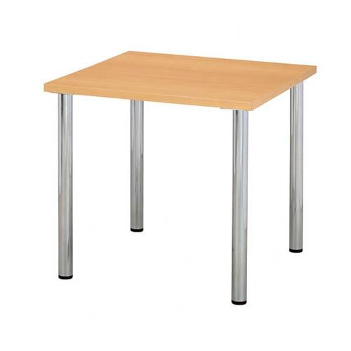 ミーティングテーブル W750×D750mm ナチュラル ※代引不可