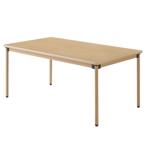 ユニバーサルテーブル 160×90cm メープル 【代引不可】