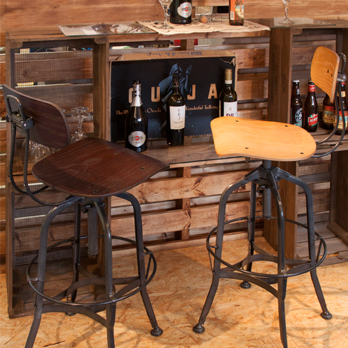 TTF-524NA カウンターチェア ナチュラル 椅子 いす チェア 家具 インテリア『代引不可』
