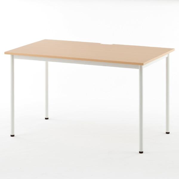 RFヤマカワ シンプルテーブル ナチュラル W1200×D700 SHST-1270NA 家具 オフィス家具 テーブル インテリア シンプル【代引不可】