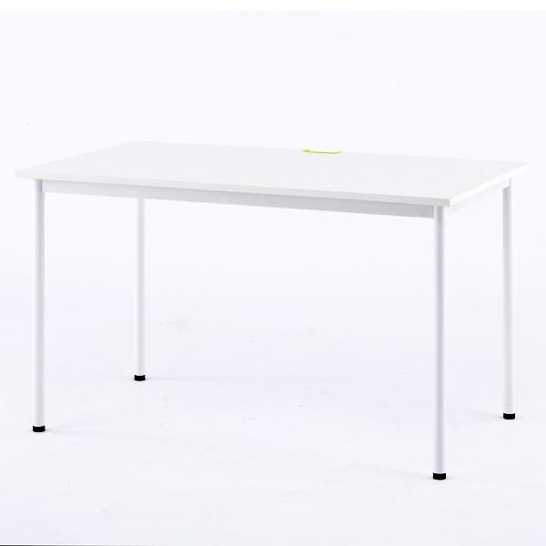 RFヤマカワ シンプルテーブル ホワイト W1200×D700 Z-SHST-1270WHW 家具 オフィス家具 テーブル インテリア シンプル【代引不可】