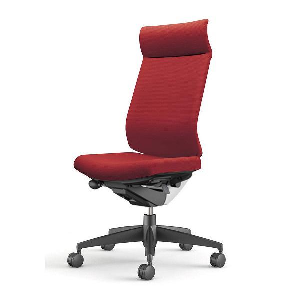 【受注生産品】コクヨ(KOKUYO) オフィスチェア Wizard3(ウィザード3) ミドルマネージメント ホワイトシェル 樹脂脚(ブラック) 布張 肘なし カーマイン CR-G3624E1G4A8-W 【代引不可】