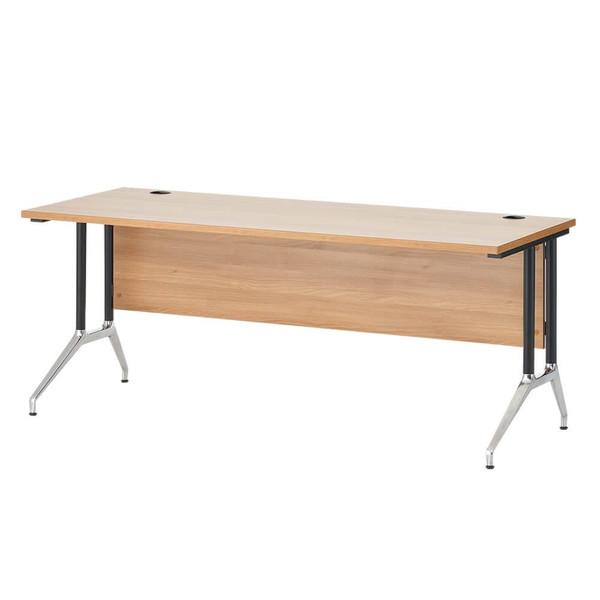 <title>美しい木目調天板でエグゼクティブに相応した気品あるシリーズ Garage OXシリーズ エグゼクティブデスク W1800×D700×H720mm ナチュラル OX187S デスク 毎週更新 机 テーブル フリーデスク 会議テーブル 代引不可</title>