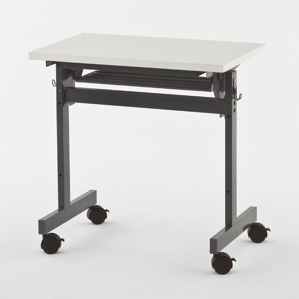 R・Fヤマカワ フォールディングテーブルIV W700×D450 ホワイト SHFT-0745-4WH 【代引不可】