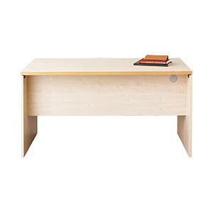 Garage パソコンデスク fantoni テーブル 幅140cm 奥行き80cm GL-148D 白木 【代引不可】