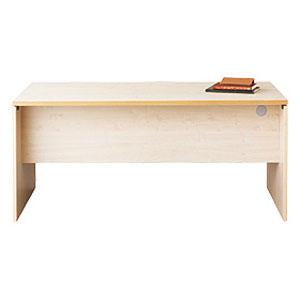 Garage パソコンデスク fantoni テーブル 幅160cm 奥行き80cm GL-168D 白木 【代引不可】