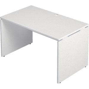 Garage 木製パソコンデスク AFデスク 幅120cm 奥行き70cm AF-127H 白 ホワイト 【代引不可】