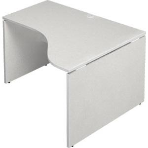 Garage 木製パソコンデスク AFデスク L型 幅120cm 奥行き100cm AF-1210DH-R 【代引不可】