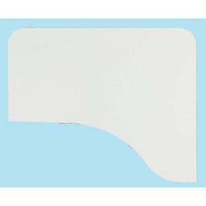 『ポイント5倍』 Garage パソコンデスク D2 L型天板 D2-D白 ホワイト 【代引不可】