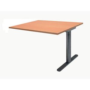 Garage ミーティングテーブル fantoni 連結用 GT-149H-Z 幅140cm 奥行き90cm 木目 【代引不可】