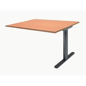 Garage ミーティングテーブル fantoni 連結用 GT-169H-Z 幅160cm 奥行き90cm 木目 【代引不可】