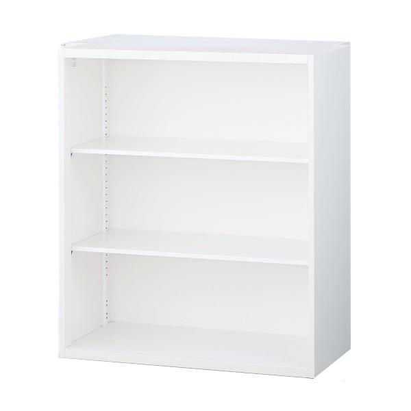 生興 クウォール システム収納庫 オープン書庫 W900×D400×H1050 RW4-10K【代引不可】