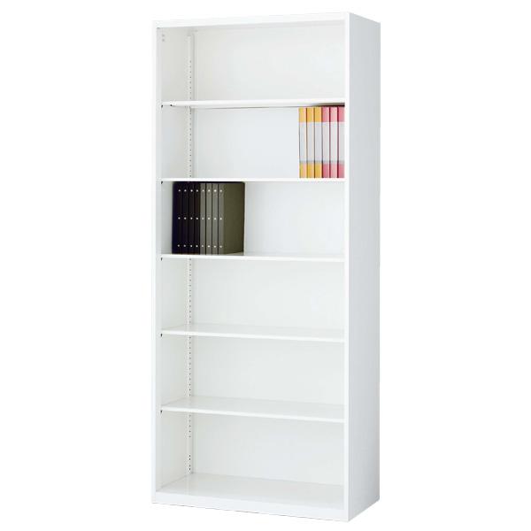 生興 クウォール システム収納庫 オープン書庫 W900×D400×H2100 RW4-21K【代引不可】