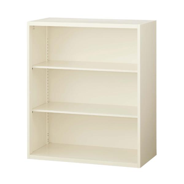 生興 クウォール システム収納庫 オープン書庫 W900×D400×H1050 RG4-10K【代引不可】