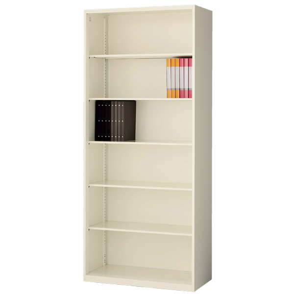 生興 クウォール システム収納庫 オープン書庫 W900×D400×H2100 RG4-21K【代引不可】