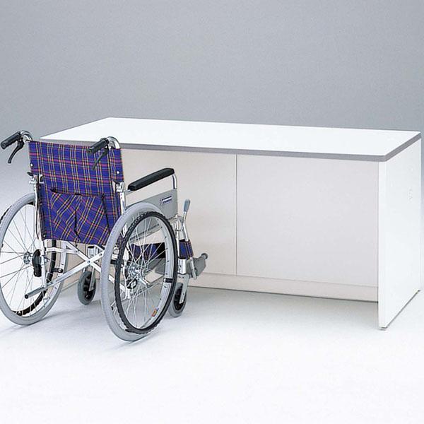 生興 NSカウンター 車椅子対応ローカウンター W1600×D800×H740 NSL-16FWW【代引不可】