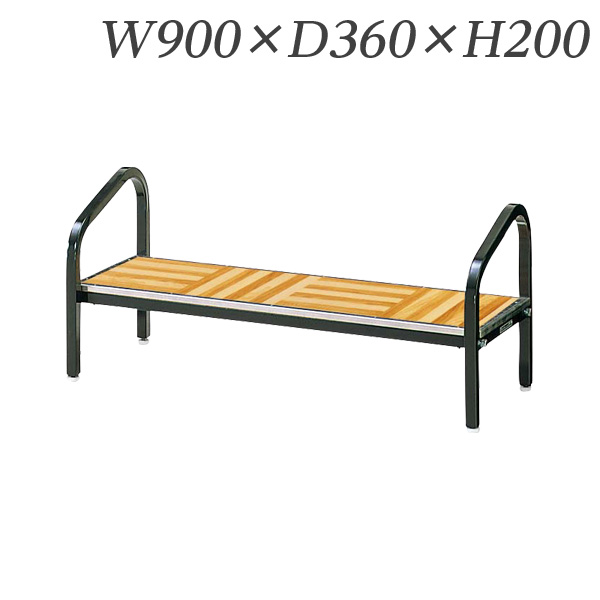 【受注生産品】生興 ステージ H400用ステップ W900×D360×H200 No.200N【代引不可】