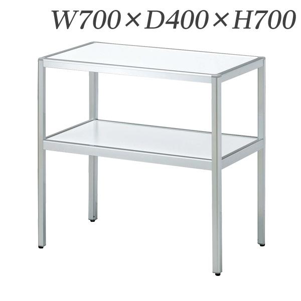 生興 電話台 コーナーテーブル W700×D400×H700 MCT-074【代引不可】