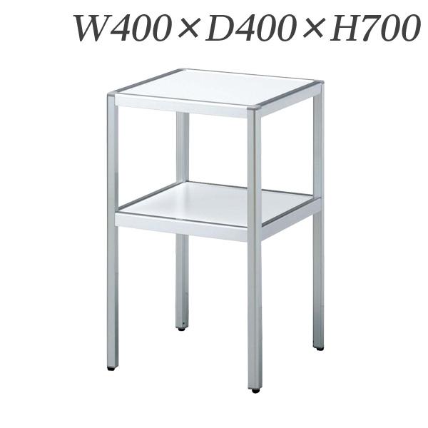 生興 電話台 コーナーテーブル W400×D400×H700 MCT-044【代引不可】